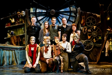 Pinocchio cast and staff